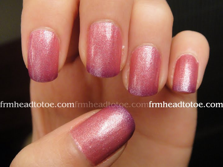 Claire\'s Mood-Changing Nail Polish in Wild/Calm Review - From Head ...