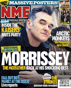 Nme New Music Express Magazine Is A British Magazine Reporting All The