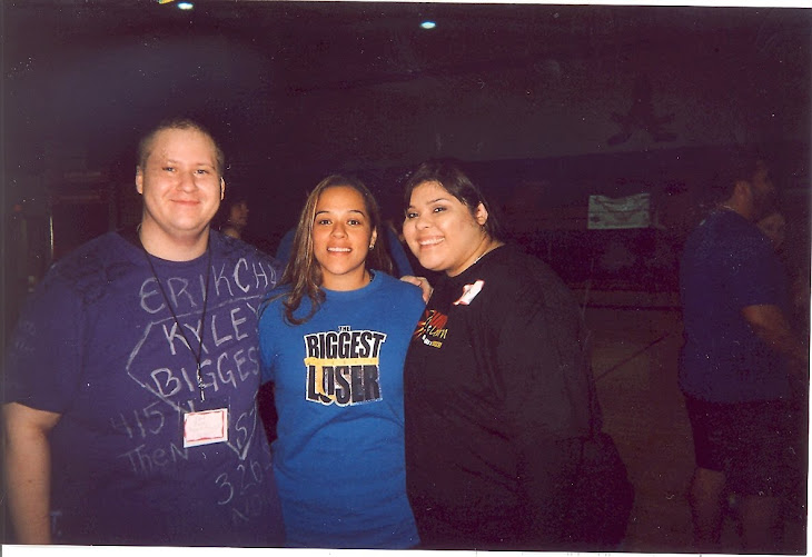 Myself, Dina Mercado from season 8, and my new friend Ashley