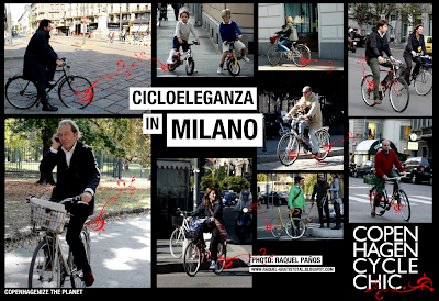Cicloeleganza in Milano - Copenhagen Cycle Chic