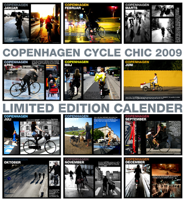 Cycle Chic Calender 2009