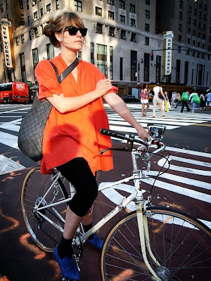 Ane Trolle in New York City
