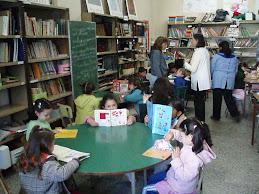 Nos visitaron los alumnos del jardín Nº 903