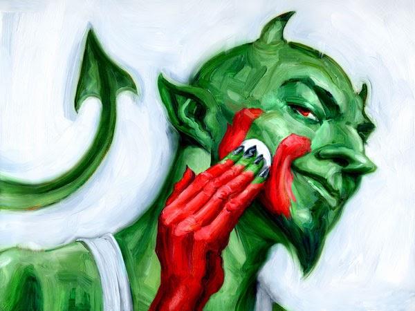 Resultado de imagem para diabo ambientalista
