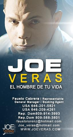 JOE VERAS, EL HOMBRE DE TU VIDA