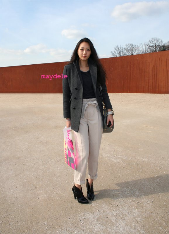 Kim Ji Young from Vogue Girl Korea wearing Chloé