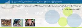 III Encontro Latino-Americano de Ciências Sociais e Barragens