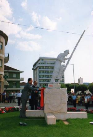 Bombeiro da cidade do Sabugal