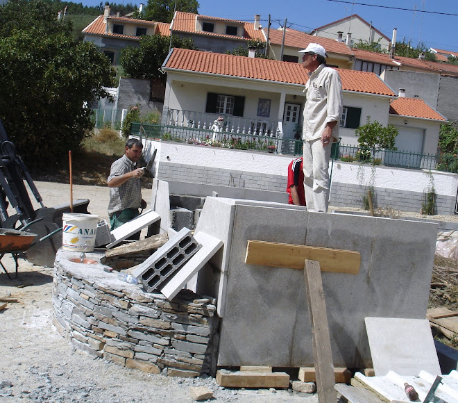 Construção do plinto