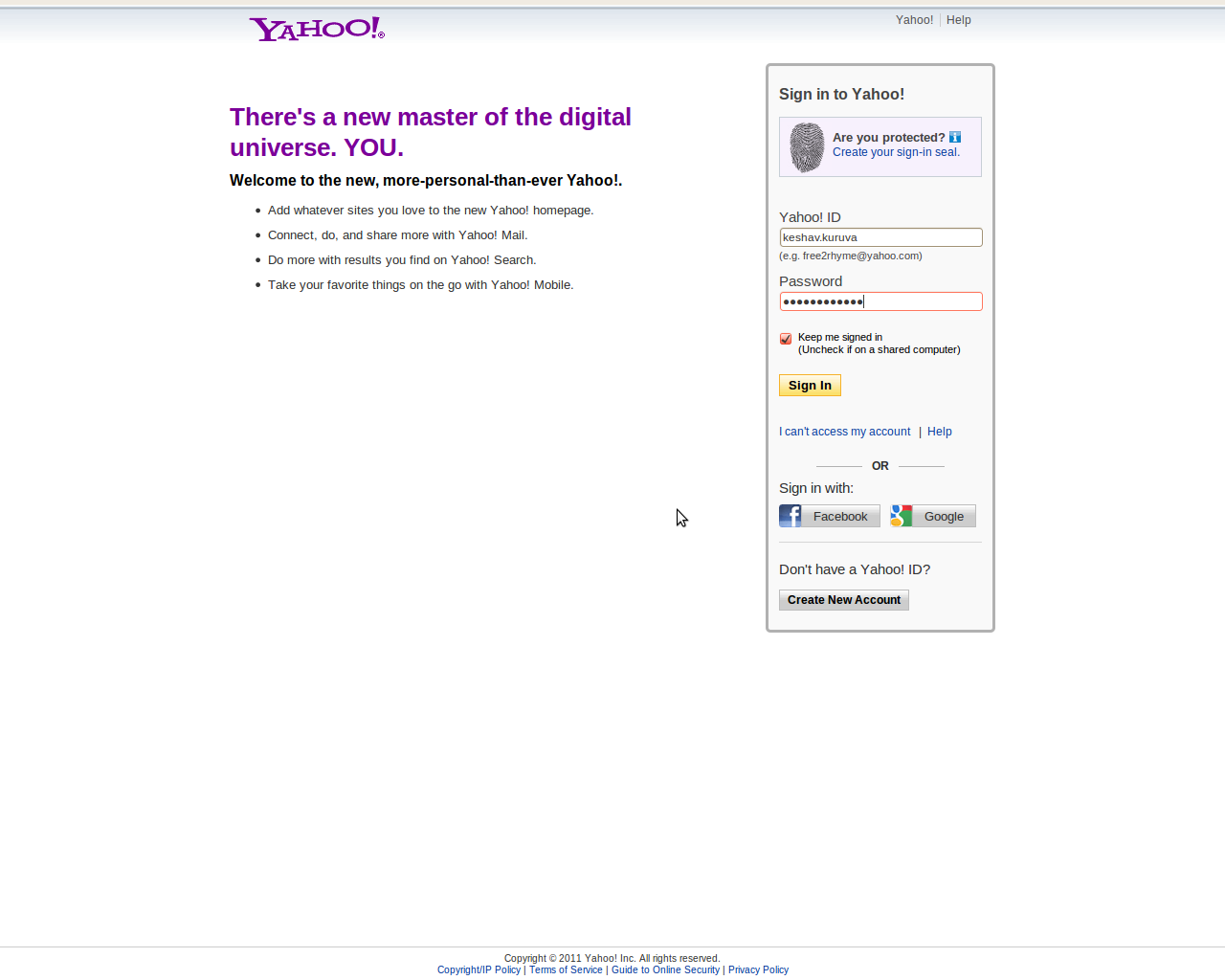 Yahoo Mail Login Yahoo Com Mail Yahoo Com Sign In Yahoo Sign In | Dark ...