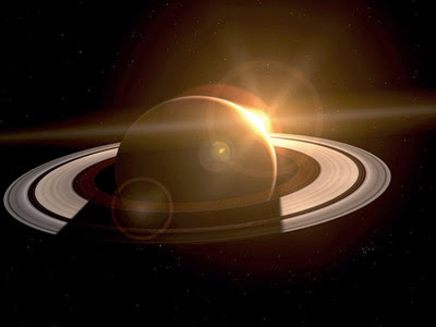 Saturn is the sixth planet