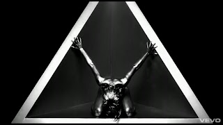Rihanna as the Baphomet