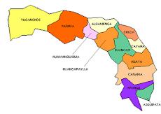 Mapa de la provincia de Fajardo