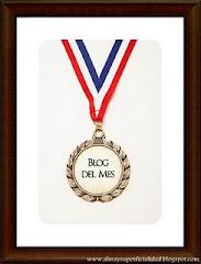 Premio: Blog del mes