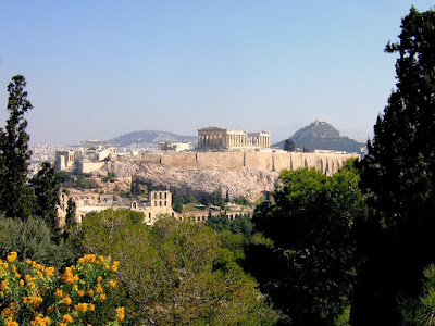 Acropolis from Filopapou Hill
