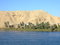 Village on the bank of the Nile