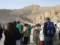 Sherif and the Pharaohs in the Valley of the Kings
