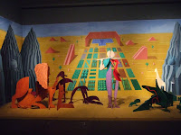 Hockney Set design display
