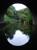 Leaving Blisworth tunnel