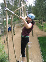 Susan on the high ropes (B)