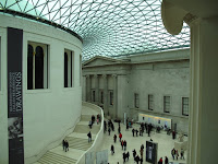 Internal courtyard at British Museum