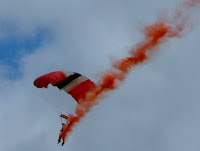 Parachute display