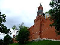 The Kremlin walls