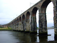 Stephenson's famous bridge across the Tweed