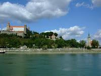 Bratislava Castle from the Danube