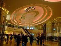 Inside Westfield Mall