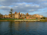The palace from across the Thames