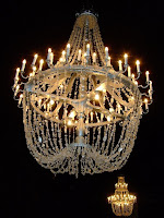 Salt chandelier