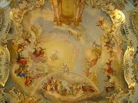 Wieskirche ceiling
