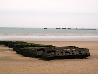 Remnants of Mulberry Harbour