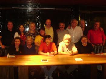 Cena Fin de año 2010 junto a mis amigos