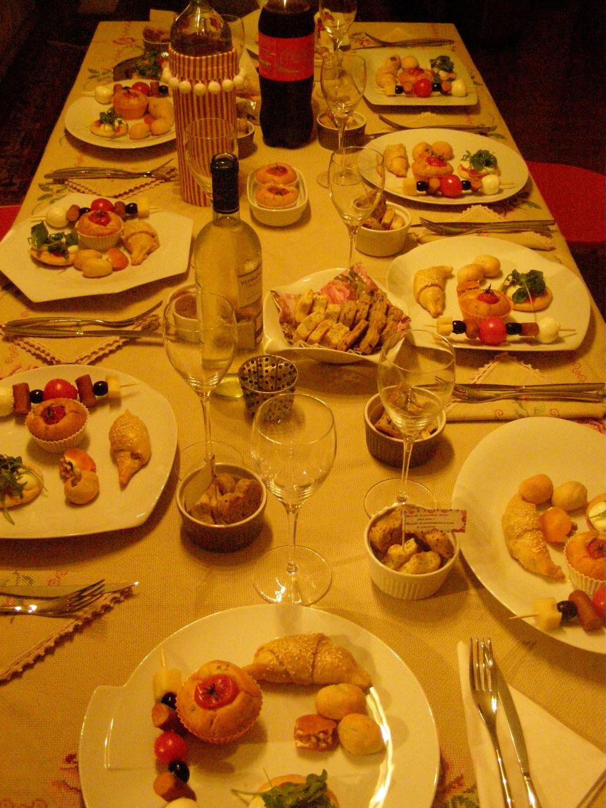 Menu De Jantar Para Aniversário