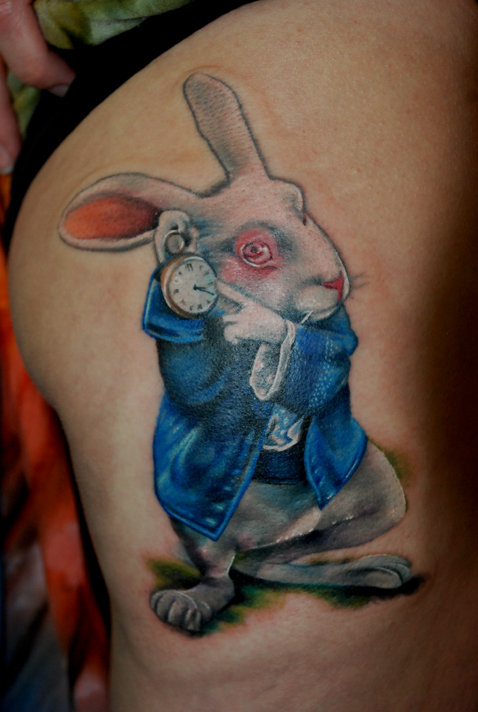 Amidst all these awards and published magazine articles, raving tattoo