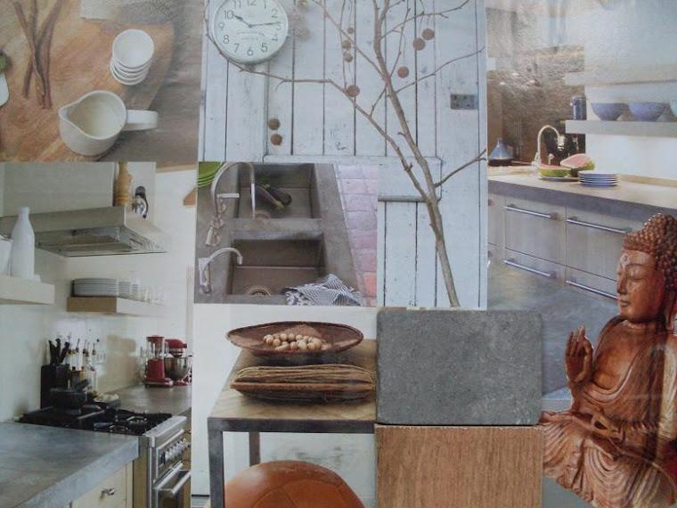 sfeer-materialencollage keuken