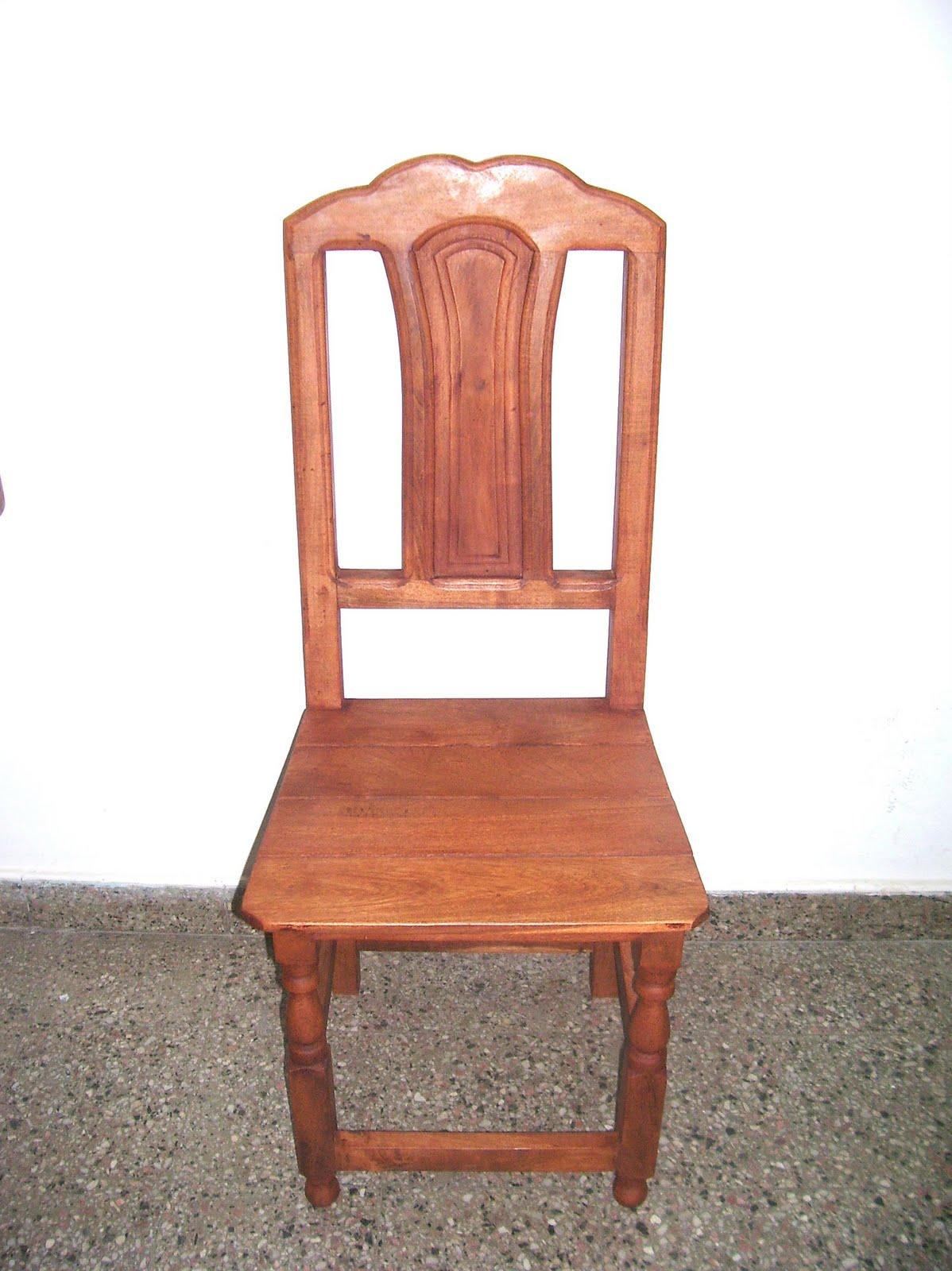 Algarrobos viedma sillas de algarrobo for Modelos de tapizados para sillas