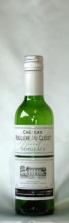 シャトー・ルリエール・デュ・クロゼ ブラン 2004(ハーフ) ボトル ラベル