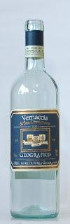 ジェオグラフィコヴェルナッチャ・ディ・サン・ジミニャーノ 2004 ボトル ラベル