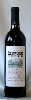 レッドウッド クリーク メルロ 2005 ボトル ラベル