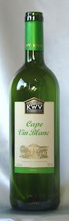 KWV ケープ・ブラン 白 ボトル ラベル