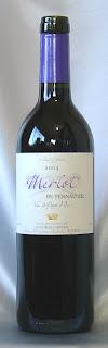 メルロー・デ・ペノティエ ヴァン・ド・ペイ・ドック 2004 ボトル ラベル