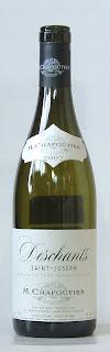 サン・ジョセフ デシャン ルージュ M.シャプティエ 2002 ボトル ラベル