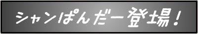 シャンぱんだー登場!