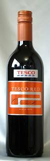 テスコ レッド NV ボトル ラベル
