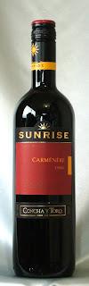 サンライズ カルメネール 2007 ボトル ラベル