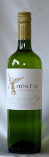 モンテス クラシックシリーズ ソーヴィニヨン・ブラン 2006 ボトル ラベル