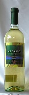 ペレグリーノ アルカモ ビアンコ 2005 ボトル ラベル